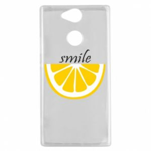 Etui na Sony Xperia XA2 Smile lemon