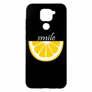 Etui na Xiaomi Redmi Note 9/Redmi 10X Smile lemon