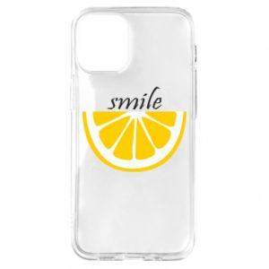 Etui na iPhone 12 Mini Smile lemon