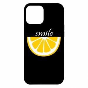 Etui na iPhone 12 Pro Max Smile lemon