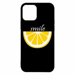 Etui na iPhone 12/12 Pro Smile lemon