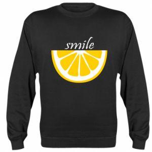 Bluza Smile lemon