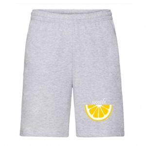 Szorty męskie Smile lemon