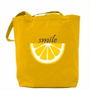 Torba Smile lemon