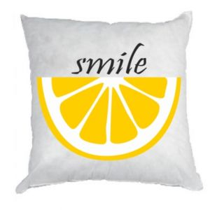 Poduszka Smile lemon