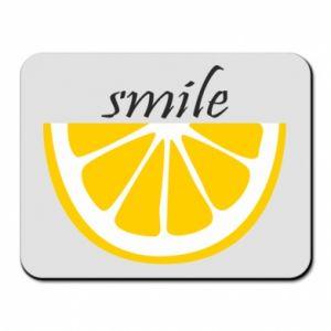 Podkładka pod mysz Smile lemon