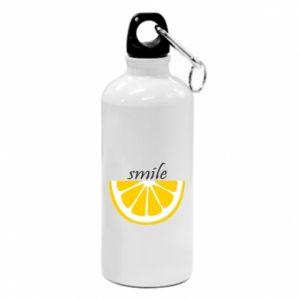 Bidon turystyczny Smile lemon