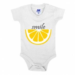 Body dziecięce Smile lemon