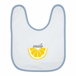 Śliniak Smile lemon
