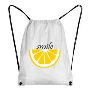 Plecak-worek Smile lemon