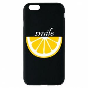 Etui na iPhone 6/6S Smile lemon