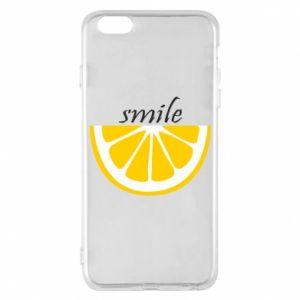 Etui na iPhone 6 Plus/6S Plus Smile lemon