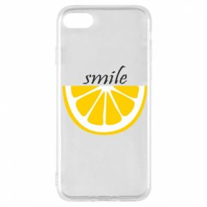 Etui na iPhone 7 Smile lemon