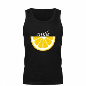 Męska koszulka Smile lemon