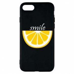 Etui na iPhone 8 Smile lemon