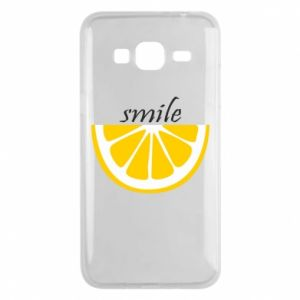 Etui na Samsung J3 2016 Smile lemon