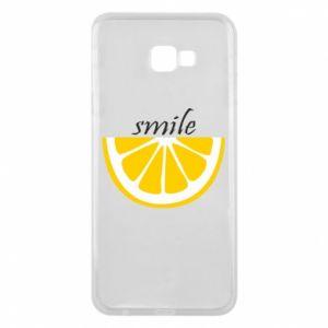 Etui na Samsung J4 Plus 2018 Smile lemon