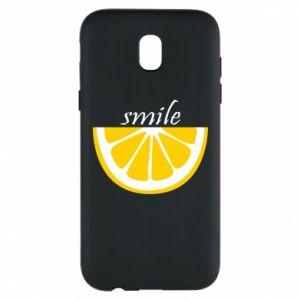 Etui na Samsung J5 2017 Smile lemon