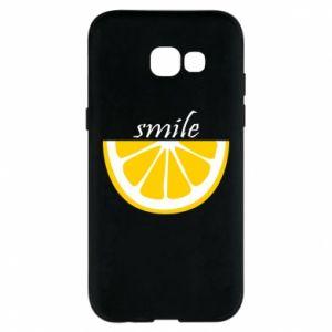 Etui na Samsung A5 2017 Smile lemon