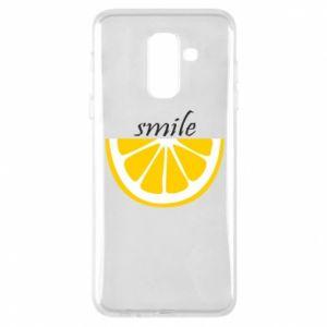 Etui na Samsung A6+ 2018 Smile lemon