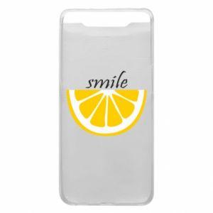 Etui na Samsung A80 Smile lemon