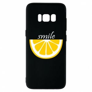 Etui na Samsung S8 Smile lemon