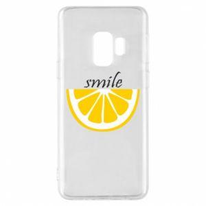 Etui na Samsung S9 Smile lemon