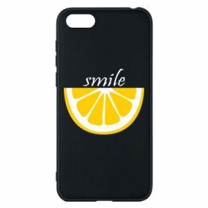 Etui na Huawei Y5 2018 Smile lemon