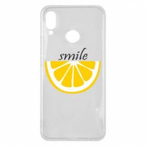 Etui na Huawei P Smart Plus Smile lemon