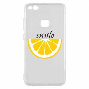 Etui na Huawei P10 Lite Smile lemon