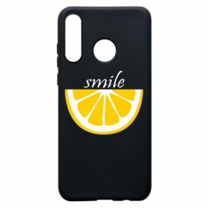 Etui na Huawei P30 Lite Smile lemon