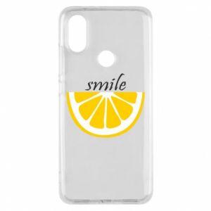 Etui na Xiaomi Mi A2 Smile lemon