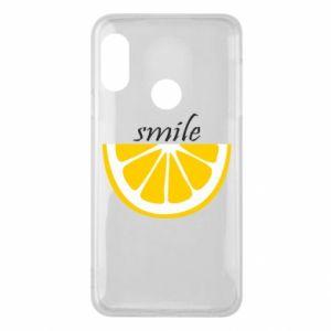 Etui na Mi A2 Lite Smile lemon