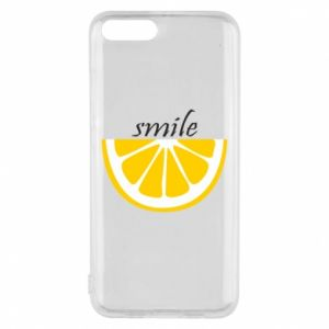 Etui na Xiaomi Mi6 Smile lemon