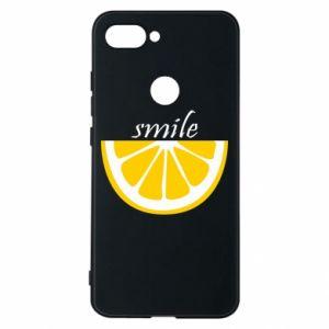 Etui na Xiaomi Mi8 Lite Smile lemon