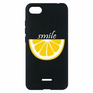 Etui na Xiaomi Redmi 6A Smile lemon