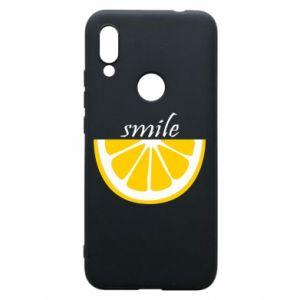 Etui na Xiaomi Redmi 7 Smile lemon