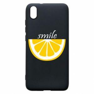 Etui na Xiaomi Redmi 7A Smile lemon