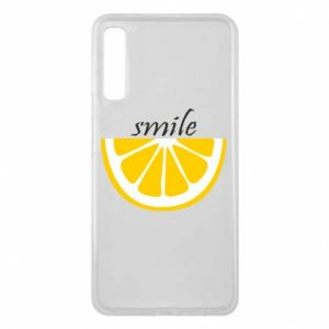 Etui na Samsung A7 2018 Smile lemon