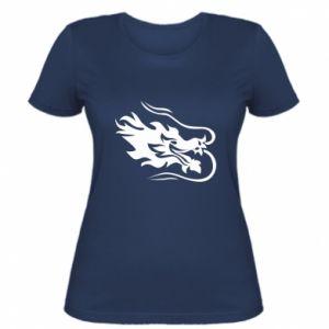Damska koszulka Smok z ogniem