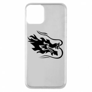 Phone case for iPhone 11 Dragon with fire