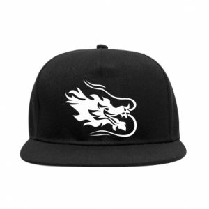 SnapBack Dragon with fire