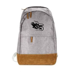 Urban backpack Dragon with fire