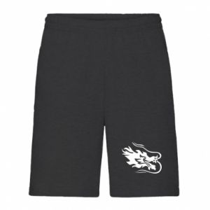 Men's shorts Dragon with fire