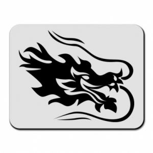 Mouse pad Dragon with fire