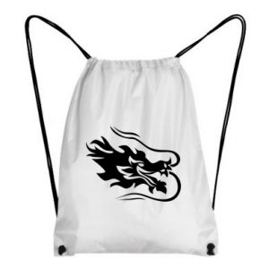 Backpack-bag Dragon with fire