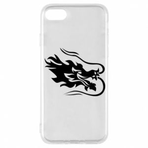 Phone case for iPhone 7 Dragon with fire