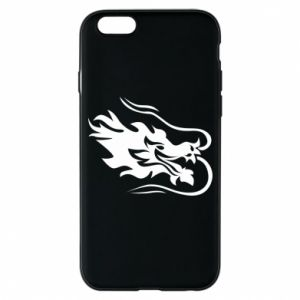 Phone case for iPhone 6/6S Dragon with fire
