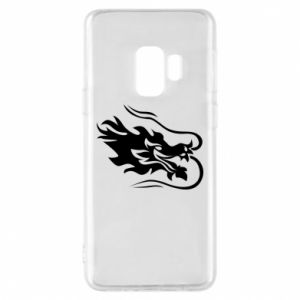 Phone case for Samsung S9 Dragon with fire