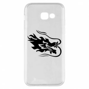 Phone case for Samsung A5 2017 Dragon with fire
